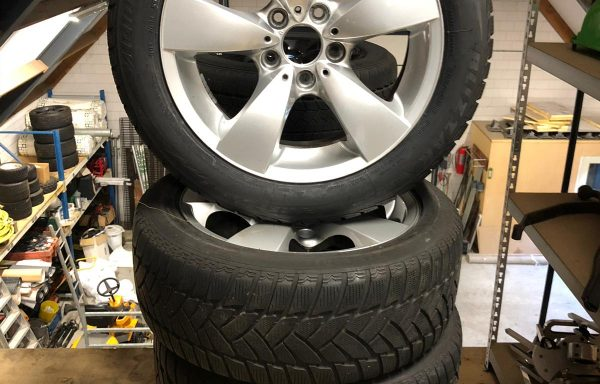 8 BMW 5 serie Winterset Runflat 17 inch